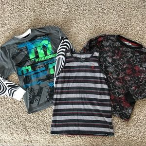 Youth Boys Shirt Mongoose Old Navy Hurley M